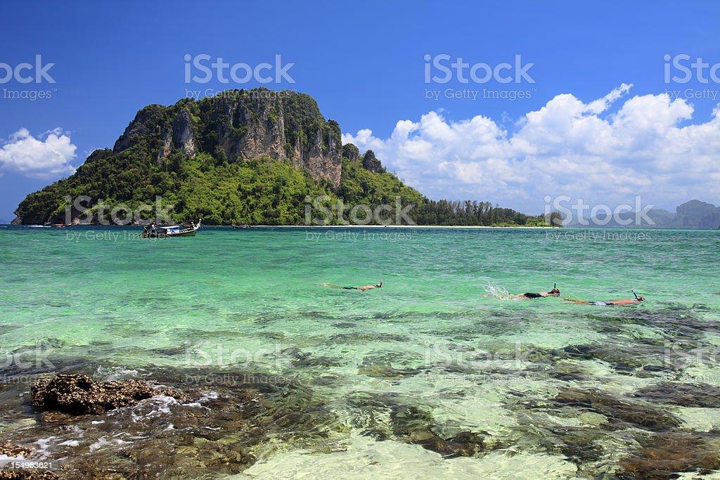 Beautiful Krabi Islands royalty-free stock photo