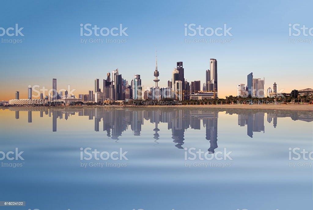 beautiful kuwait stock photo