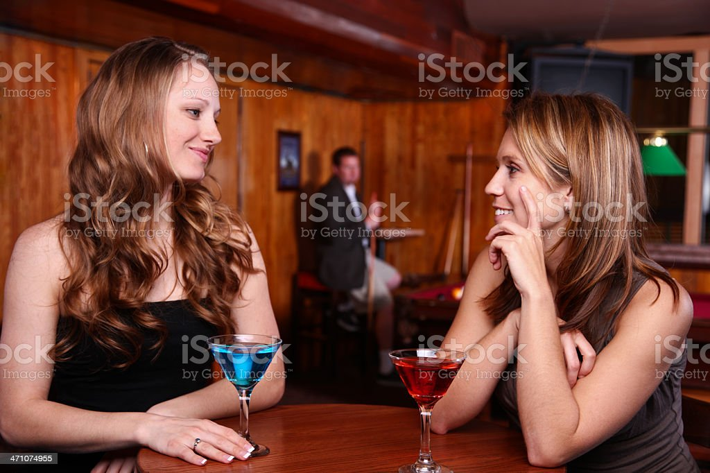 Beautiful Ladies stock photo
