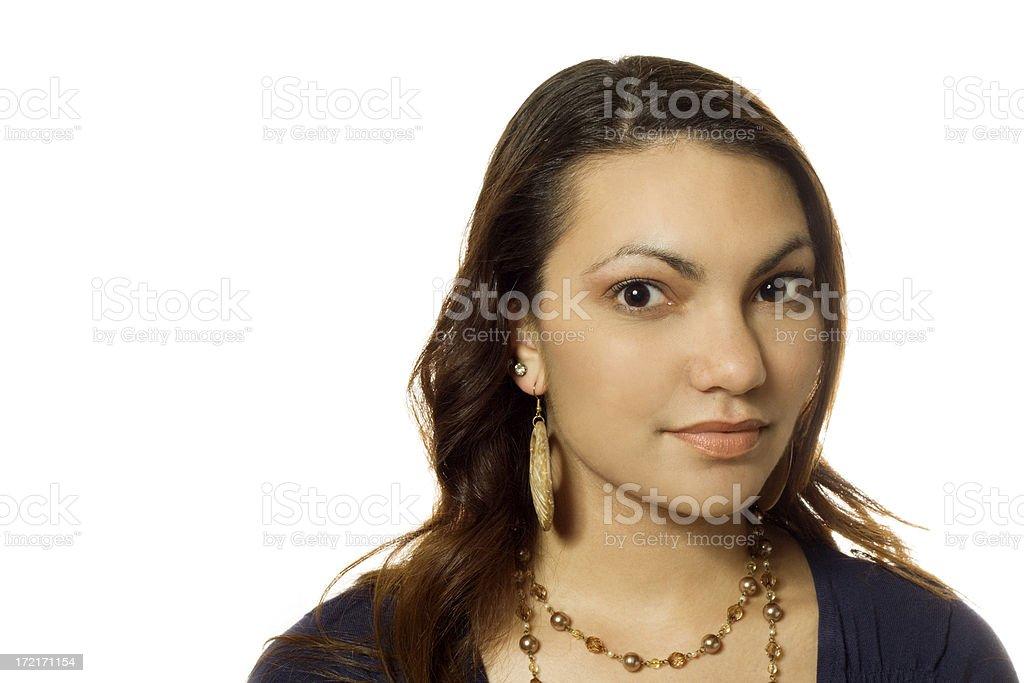 Beautiful Lady royalty-free stock photo