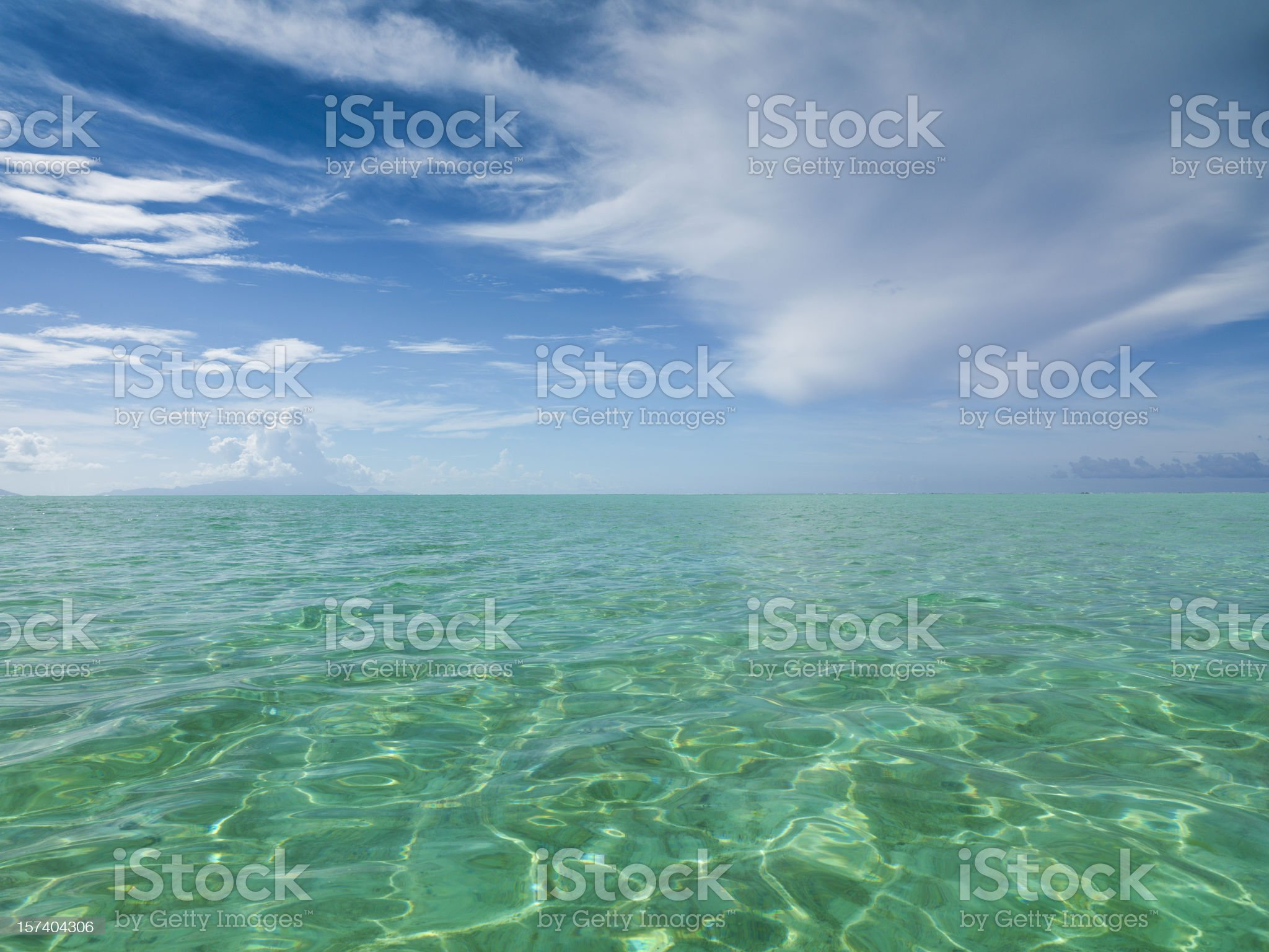 Beautiful Lagoon royalty-free stock photo