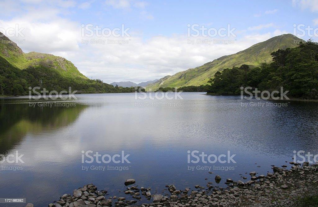 Beautiful lake in Ireland royalty-free stock photo