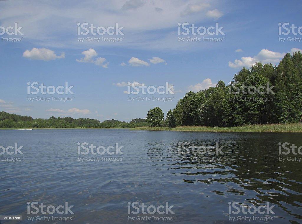 Beautiful Lake stock photo