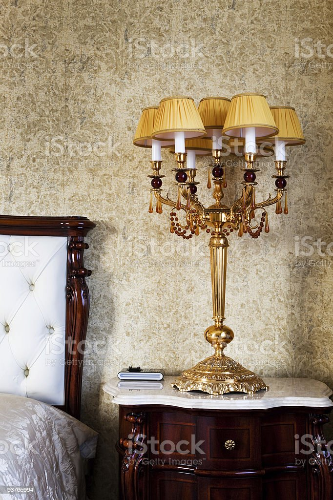 Beautiful lamp royalty-free stock photo