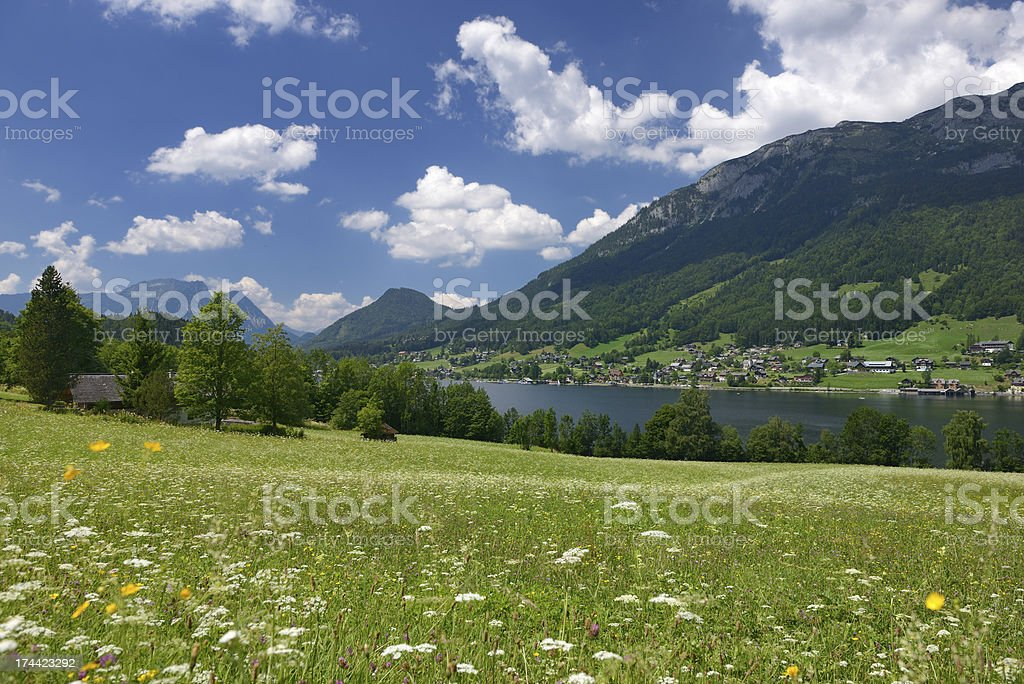 Beautiful Landscape, Austrian Alps royalty-free stock photo