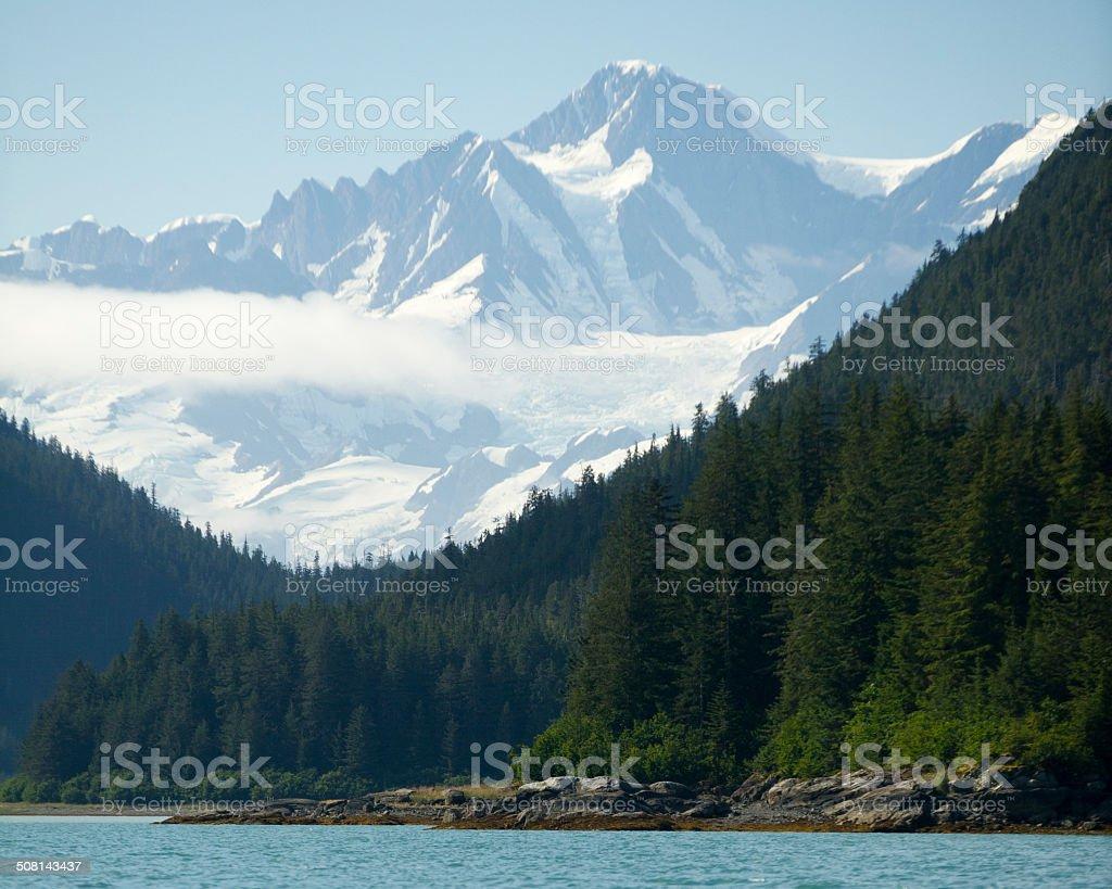 Beautiful landscape in Alaska stock photo