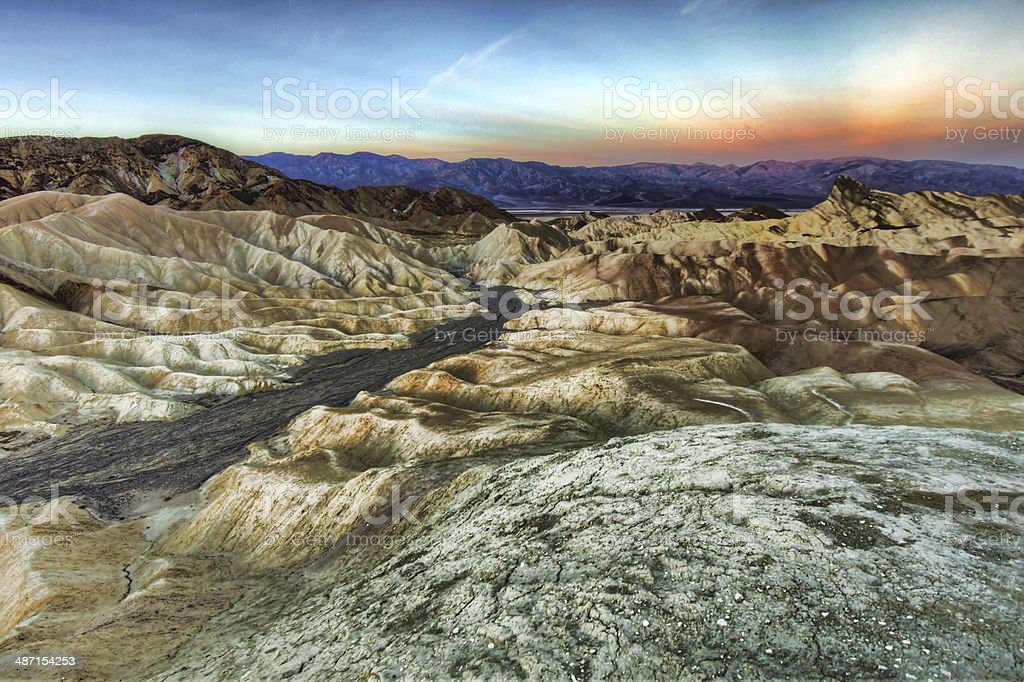 Beautiful Landscape in Death Valley National Park, California stock photo