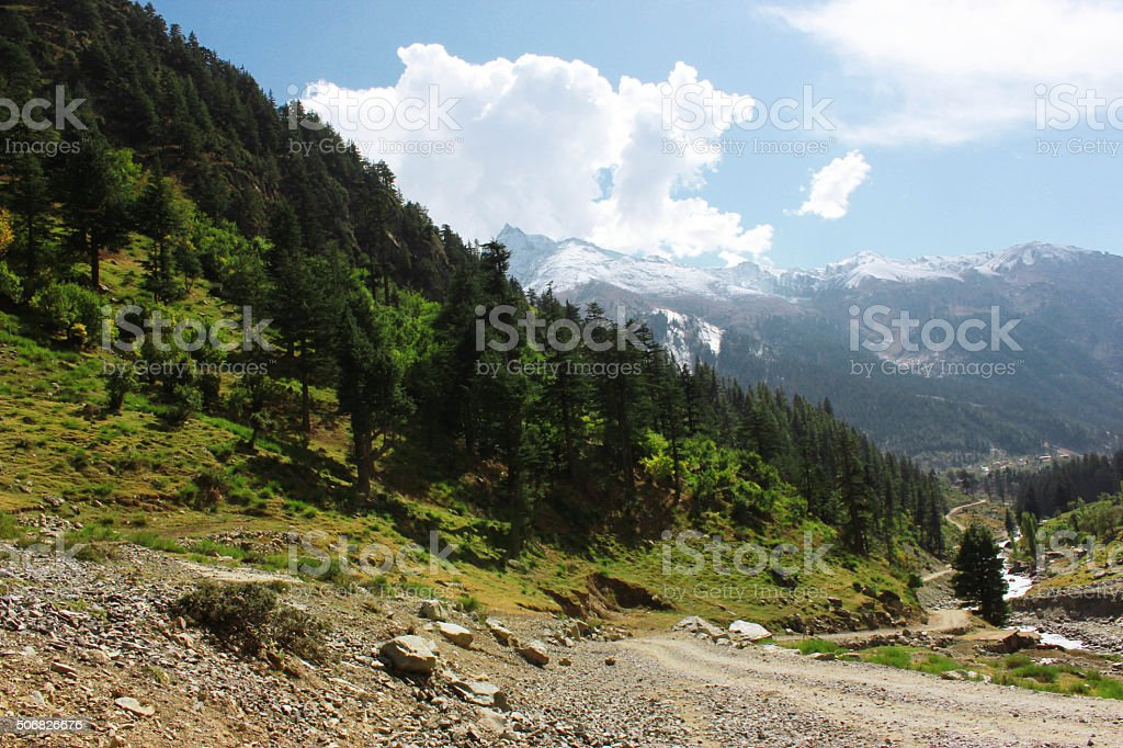 Beautiful Landscape in the mountains stock photo