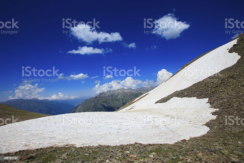 Beautiful landscape on mountain royalty-free stock photo