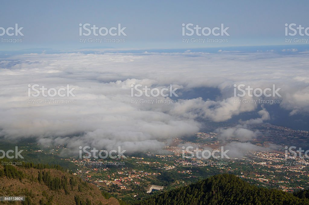 Beautiful landscape Tenerife, Canary Islands, Spain stock photo