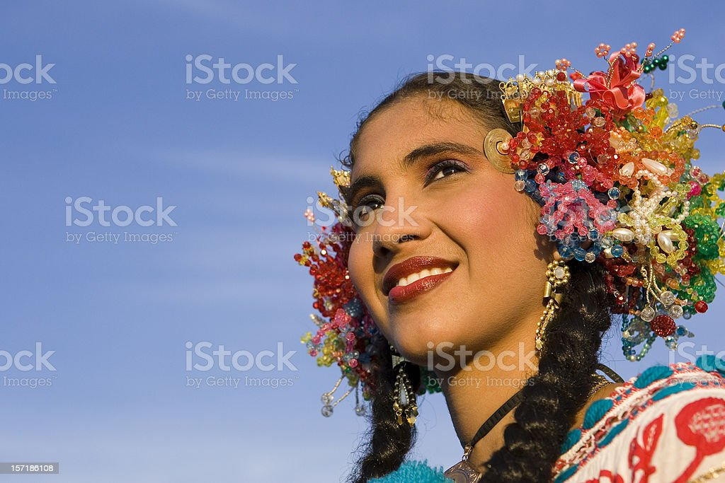 Beautiful Latino Girl Portrait stock photo