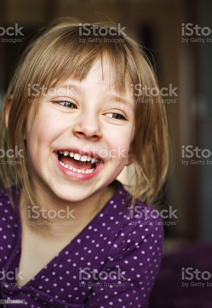 Beautiful laughter royalty-free stock photo