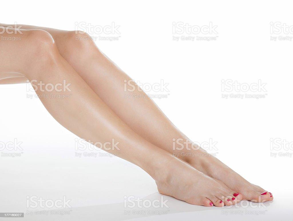 Beautiful legs royalty-free stock photo