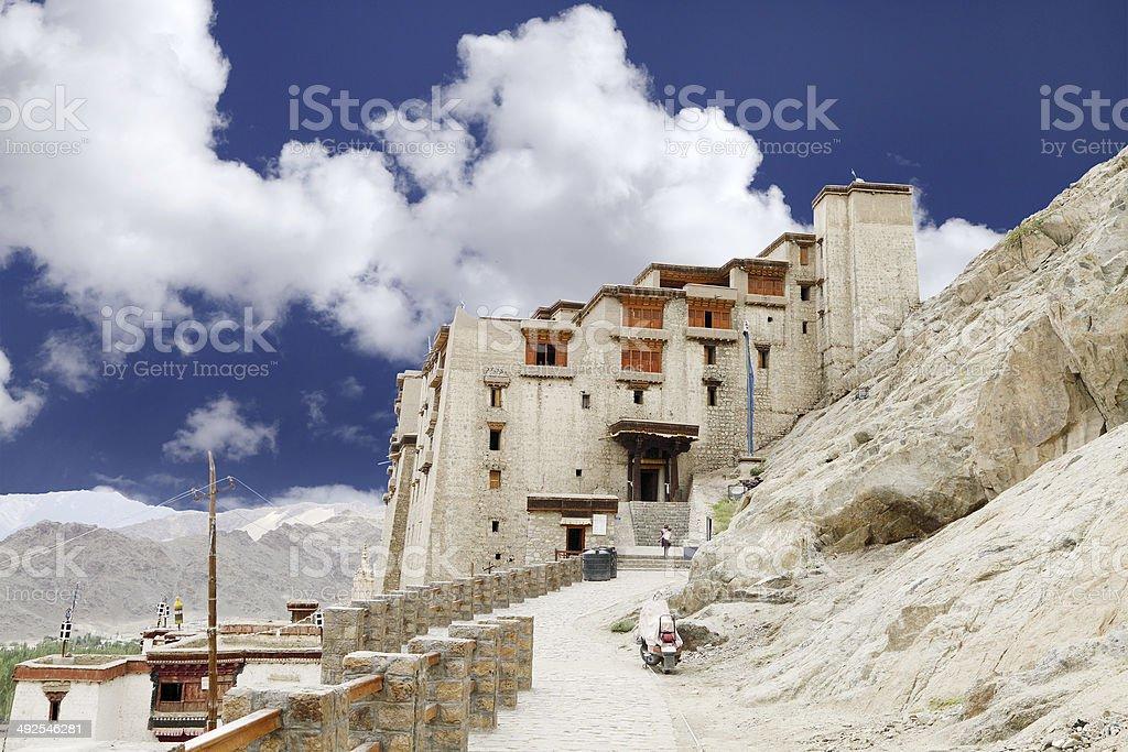Beautiful Leh Palace stock photo