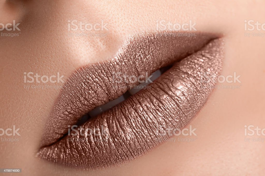 Beautiful Lips stock photo