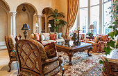 Beautiful Living Room in Estate Home