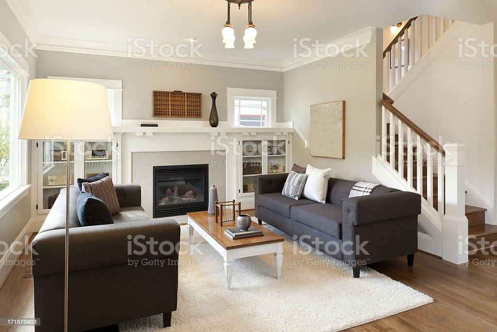 Beautiful Living Room royalty-free stock photo