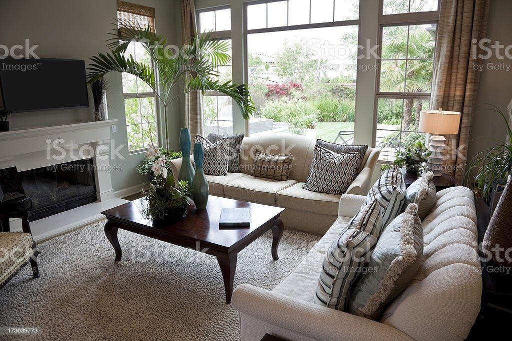 Beautiful Living Room royalty-free stock photo