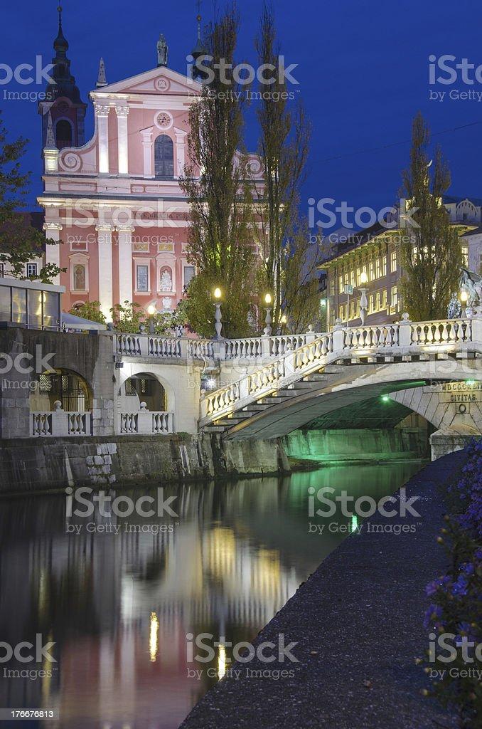 Beautiful Ljubljana, Slovenia royalty-free stock photo