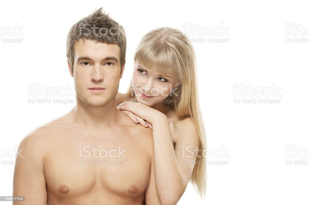 beautiful loving couple royalty-free stock photo