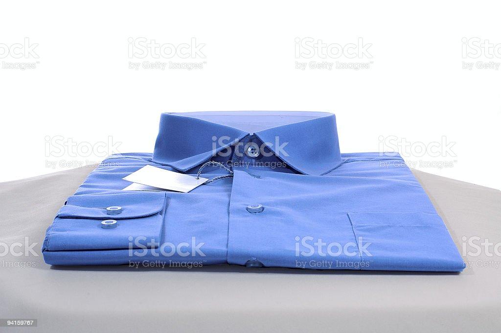 Beautiful man's shirt stock photo