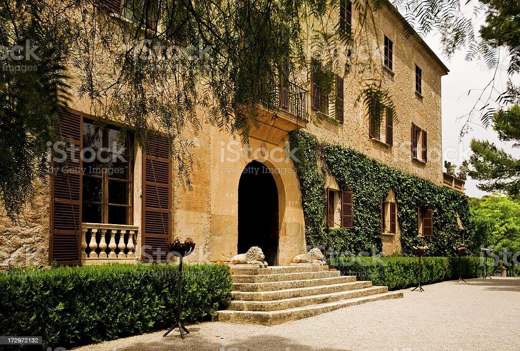 Beautiful Mansion royalty-free stock photo