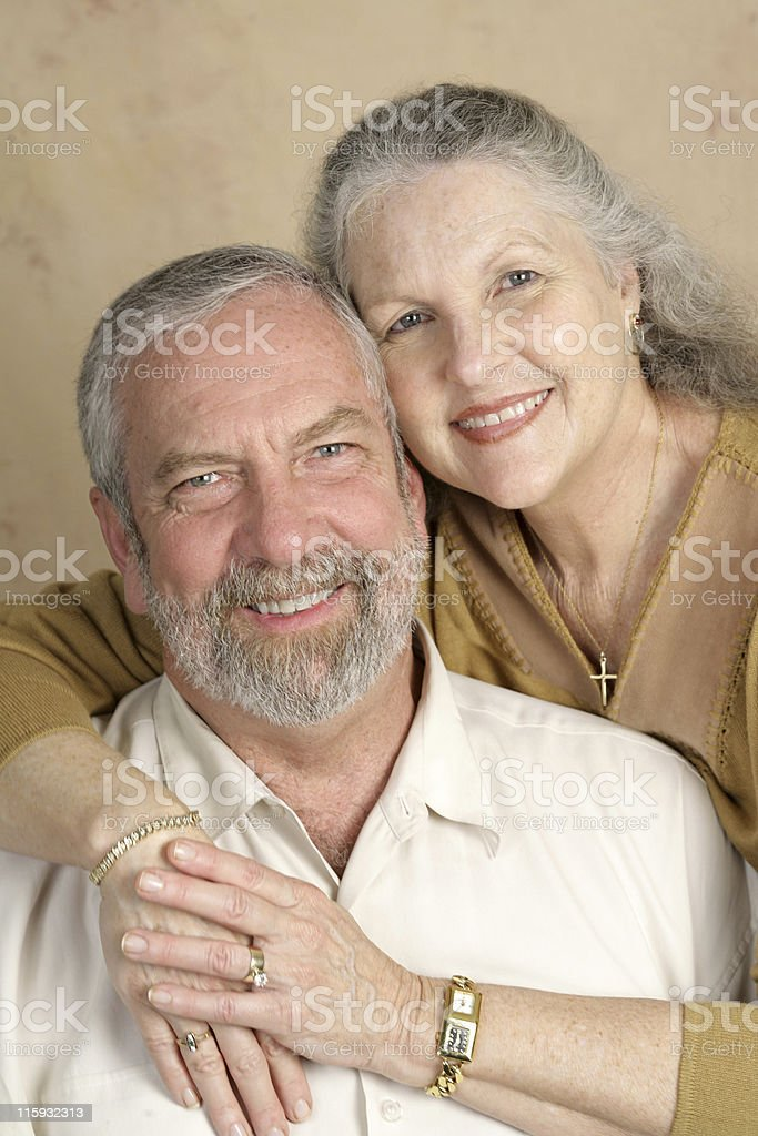 Beautiful Mature Couple royalty-free stock photo