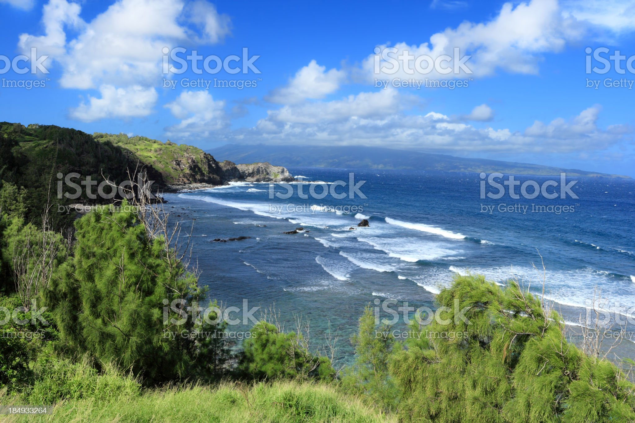 Beautiful Maui beach royalty-free stock photo