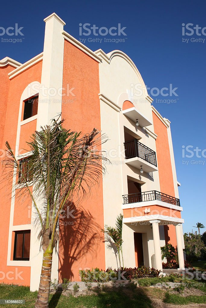 Beautiful Mexican condo royalty-free stock photo