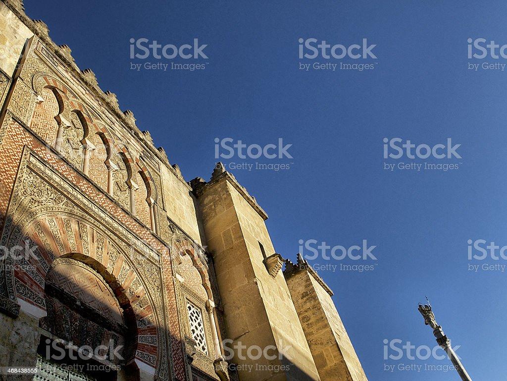 Beautiful Mezquita Exterior stock photo