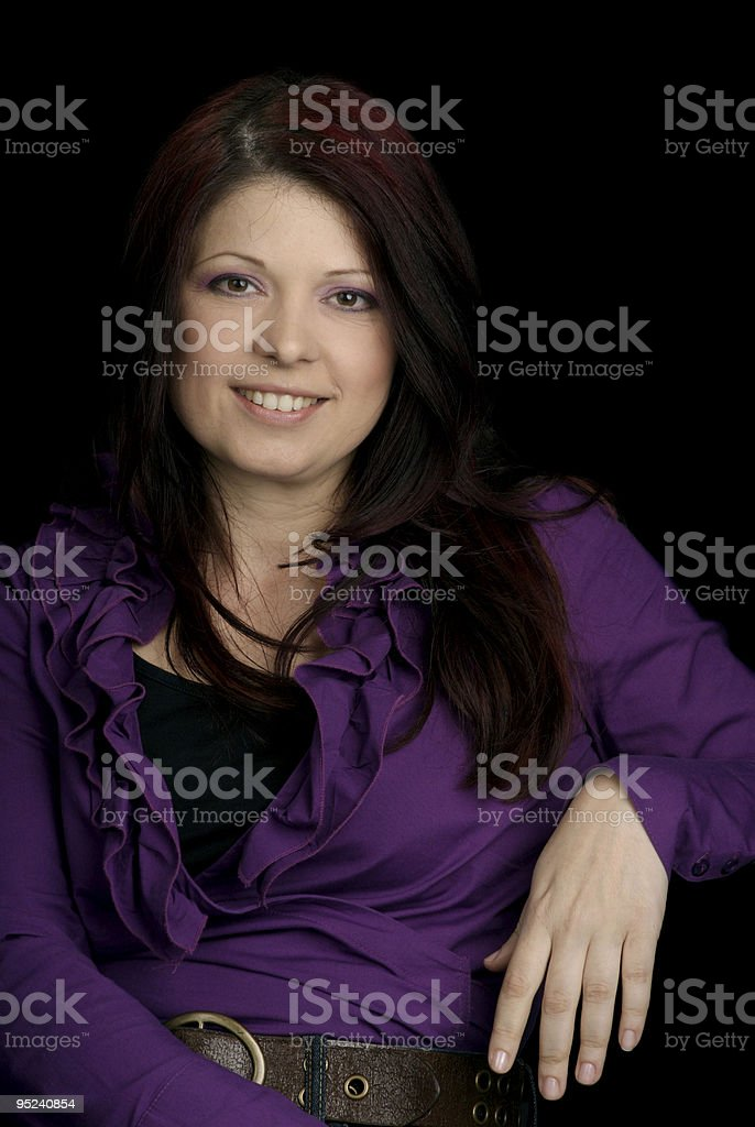 Beautiful Mid Adult Woman royalty-free stock photo