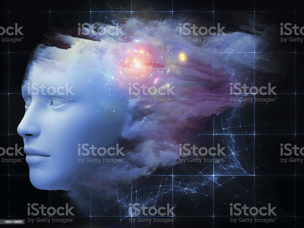Beautiful Mind stock photo