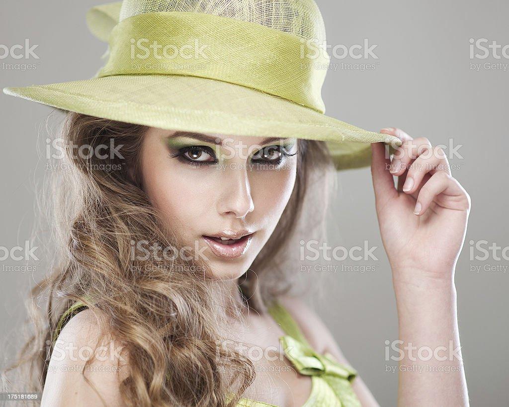 Beautiful Model Posing royalty-free stock photo