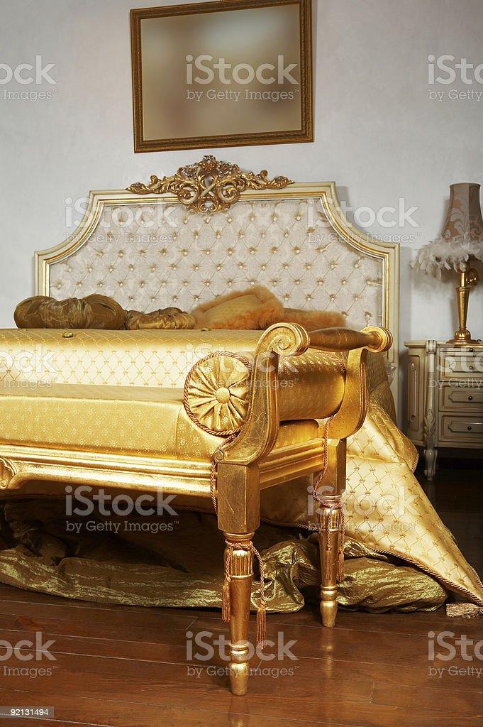 beautiful modern bedroom royalty-free stock photo