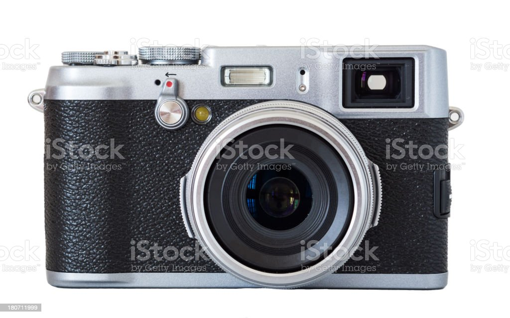Beautiful Modern Retro Camera stock photo