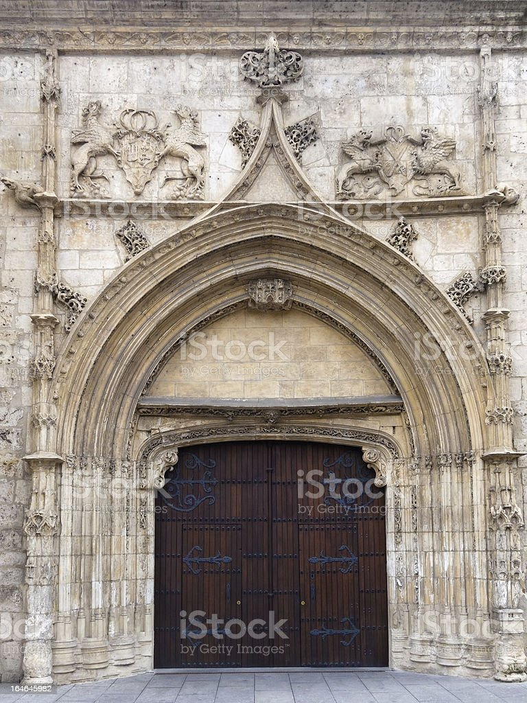 Beautiful Monumental Gate royalty-free stock photo