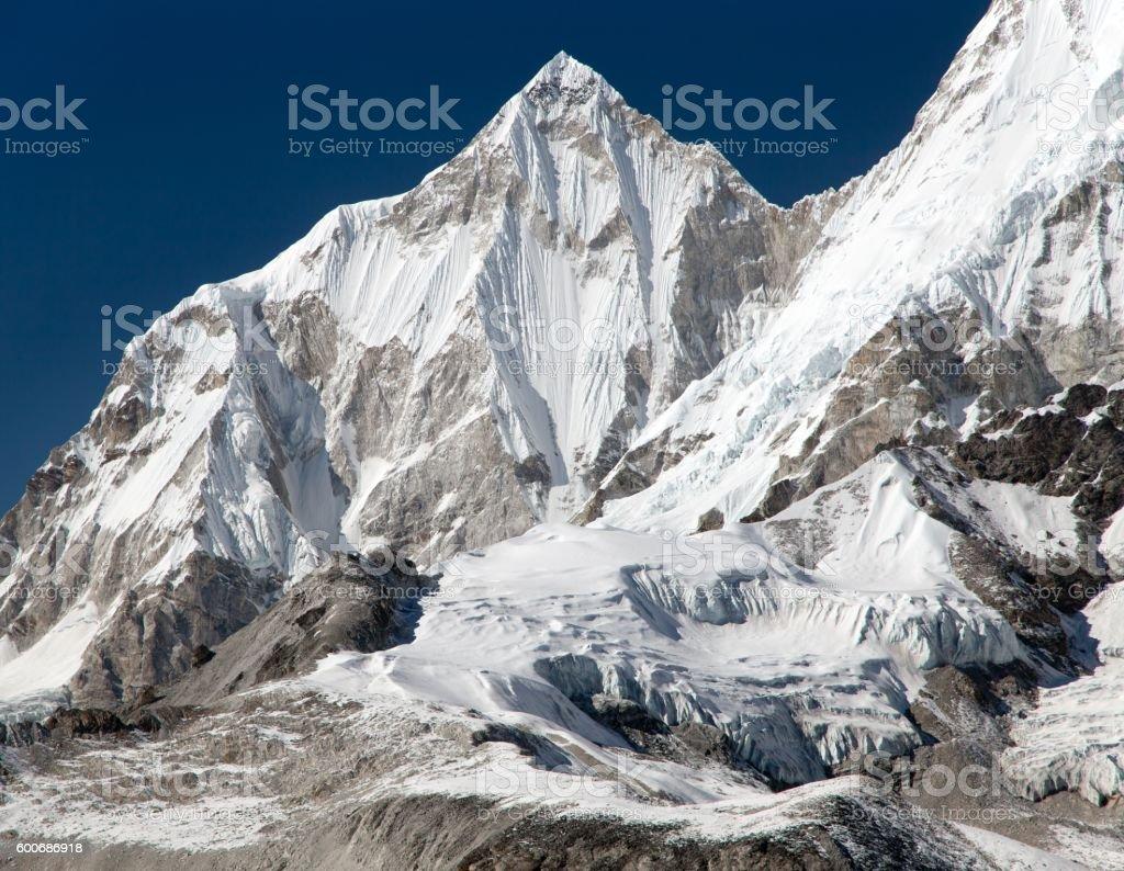 Beautiful mount near Cho Oyu stock photo