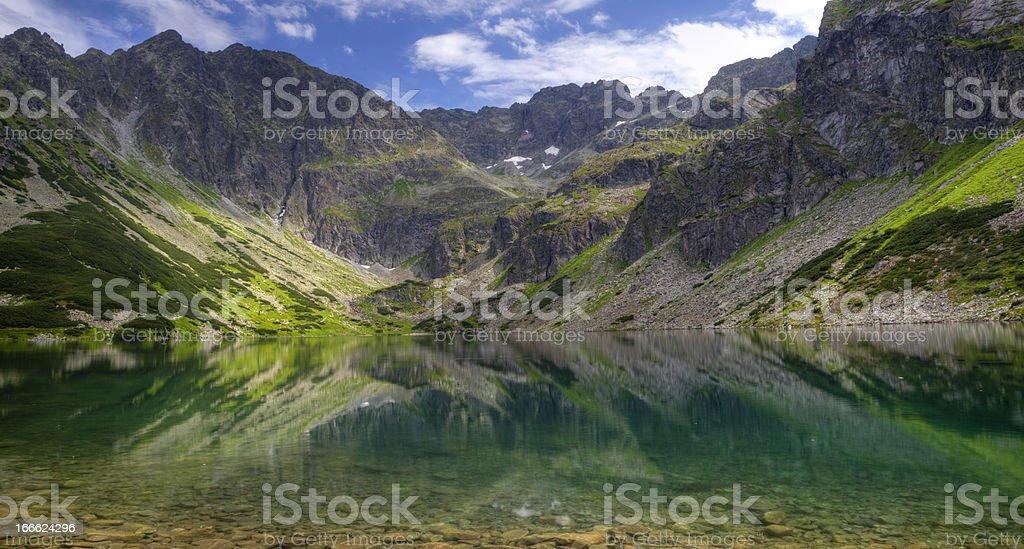 Beautiful Mountain Lake royalty-free stock photo