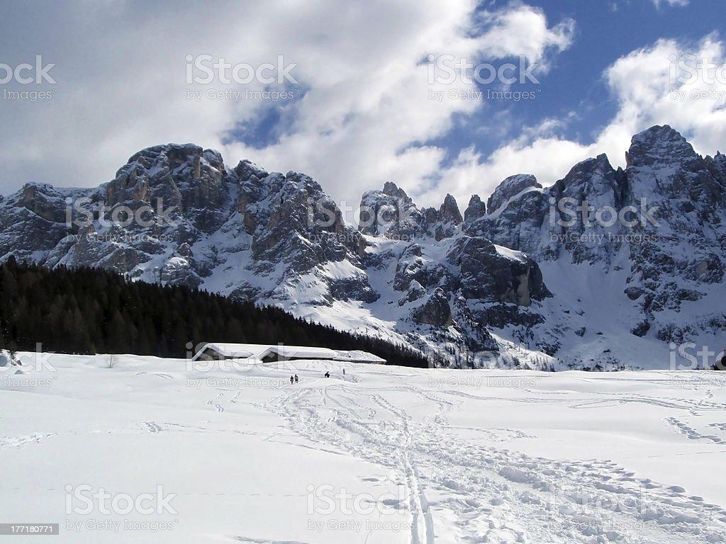 Beautiful mountain landscape royalty-free stock photo