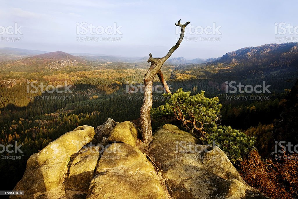 Beautiful Mountains stock photo