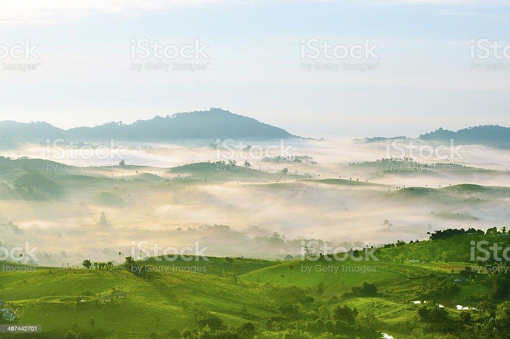 Piękne góry zbiór zdjęć royalty-free