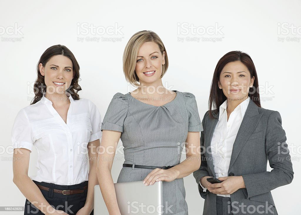 Beautiful Multi Ethnic Businesswomen royalty-free stock photo