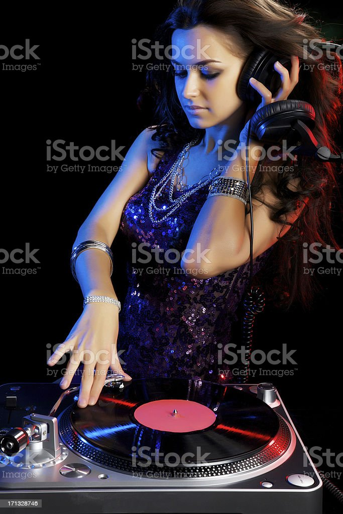 Beautiful Musician stock photo
