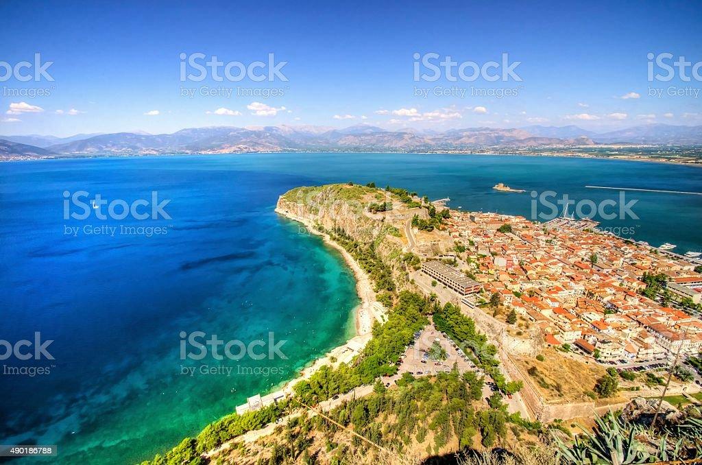 Beautiful Nafplio, Greece stock photo