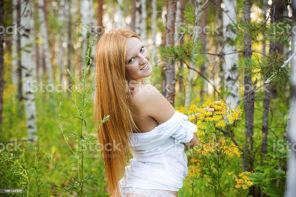 Beautiful naked woman royalty-free stock photo