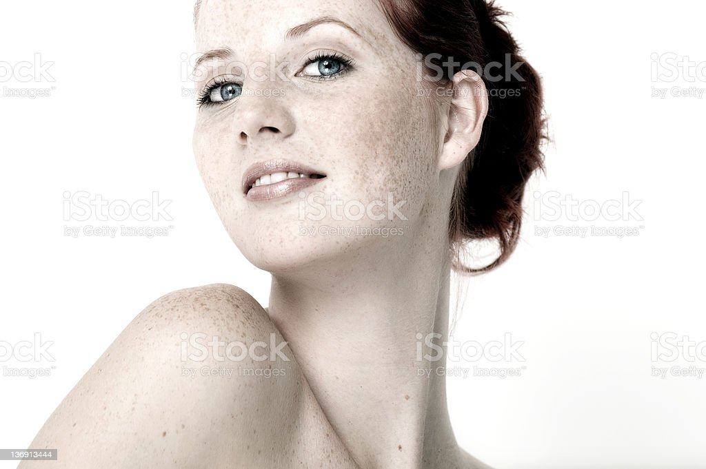 Beautiful Natural Girl royalty-free stock photo