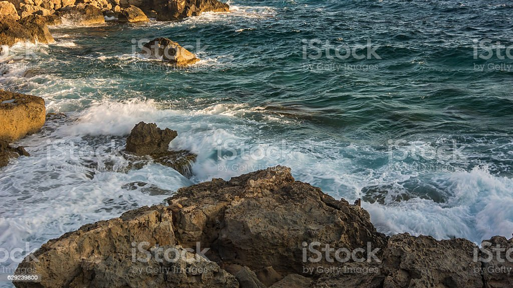 Beautiful natural Rock near of Ayia Napa, stock photo