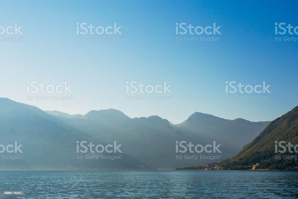 Beautiful nature mountains landscape stock photo