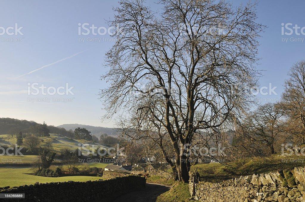 Beautiful near Sawrey stock photo