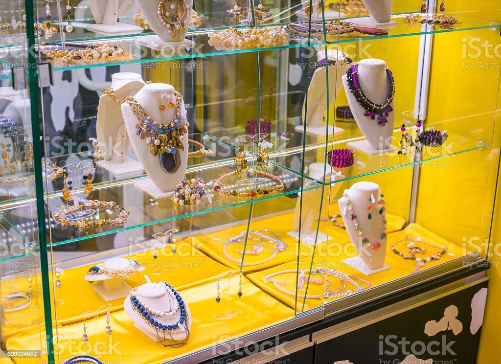 Beautiful Necklace Jewelry stock photo